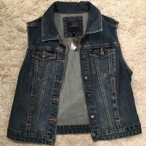NWT The Limited Denim Vest